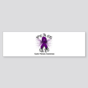 Cystic Fibrosis Awareness Pea Sticker (Bumper)