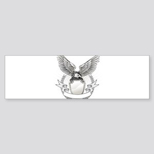 Eagles theme design Bumper Sticker