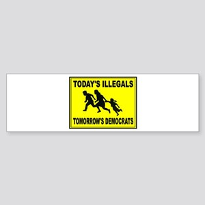 THEY KEEP COMING Sticker (Bumper)