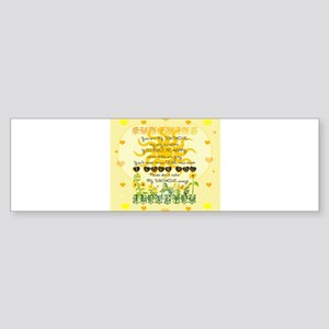 Sunshine Bumper Sticker