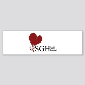 Seattle Grace Hospital Sticker (Bumper)