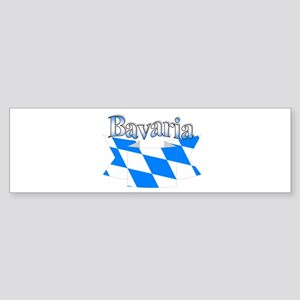 Bavarian ribbon Sticker (Bumper)