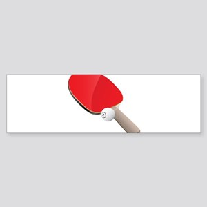 Table Tennis - Ping Pong Bumper Sticker