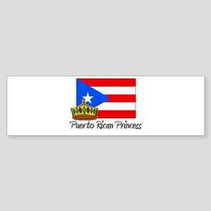 Puerto Rican Princess Bumper Sticker