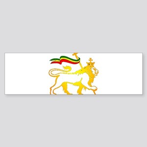 KING OF KINGZ LION Bumper Sticker