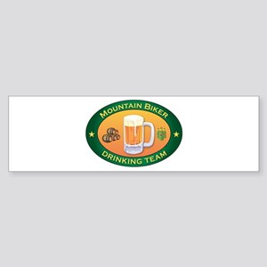 Mountain Biker Team Bumper Sticker