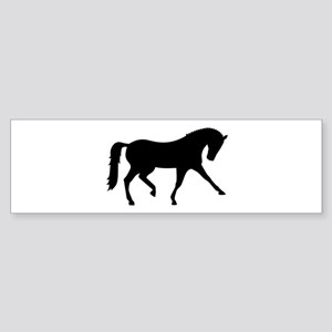 Dressage horse Sticker (Bumper)
