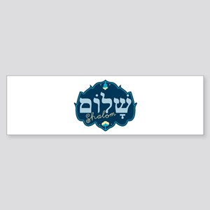Shalom Bumper Sticker