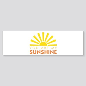 My Sunshine Bumper Sticker