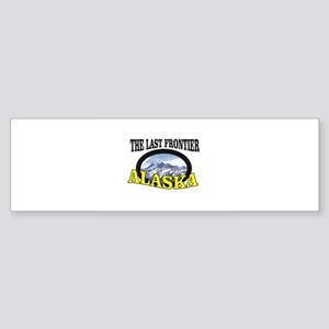 the last frontier ak Bumper Sticker