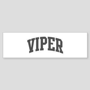 Viper (curve-grey) Bumper Sticker