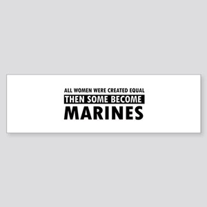 Marine design Sticker (Bumper)