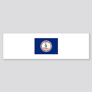 Virginia Flag Bumper Sticker