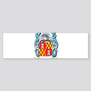 Vigilante Coat of Arms - Family Cre Bumper Sticker