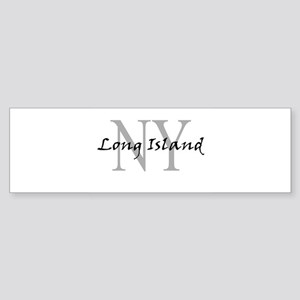 Long Island thru NY Bumper Sticker