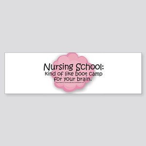 Nursing School Boot Camp Bumper Sticker
