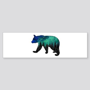 BEAR AURORA Bumper Sticker