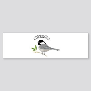 Chickadee Bumper Sticker