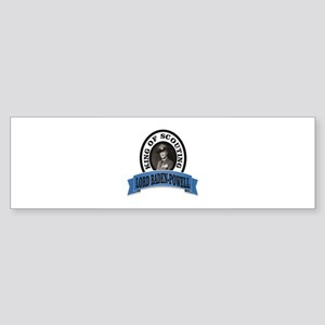 baden powell king of Scouts Bumper Sticker