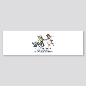 Get Well Birthday Humor Bumper Sticker