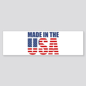 made in the usa Bumper Sticker