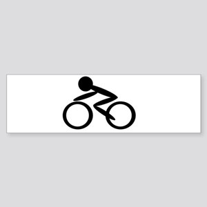 Cycling Bumper Sticker