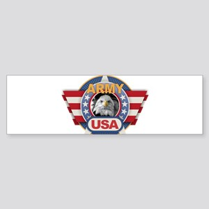 USA Army Design Bumper Sticker