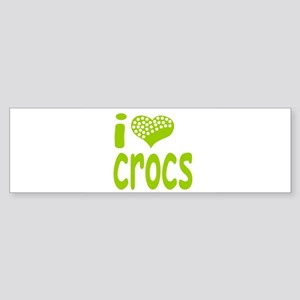 I love Crocs Bumper Sticker