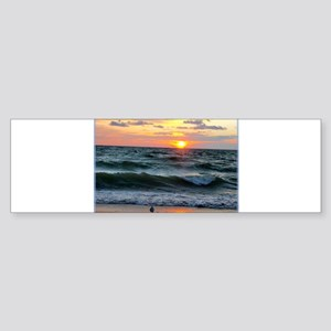 Sunset, photo, Sticker (Bumper)