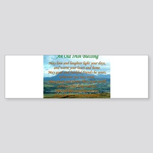 Old Irish Blessing #2 Bumper Sticker