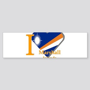 I love Marshall Islands Bumper Sticker