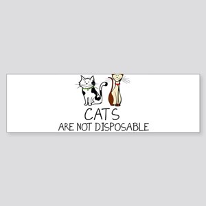 petsnotdis-cat Bumper Sticker