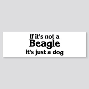 Beagle: If it's not Bumper Sticker