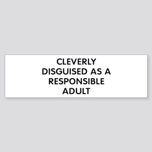Cleverly Adult Sticker (Bumper)