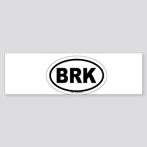 BRK - The Berkshires MA Bumper Sticker