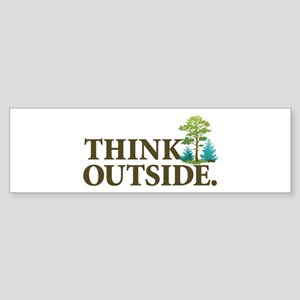 Think Outside Sticker (Bumper)