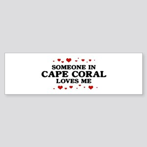 Loves Me in Cape Coral Bumper Sticker