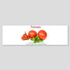 Tomato Bumper Sticker