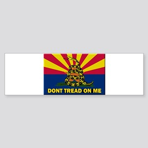 Arizona Dont Tread On Me Bumper Sticker