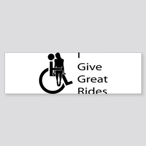 i-give-great-rides2 Bumper Sticker