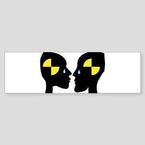 Test Dummy Love Bumper Sticker