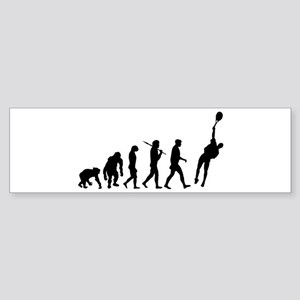 Evolution of Tennis Sticker (Bumper)