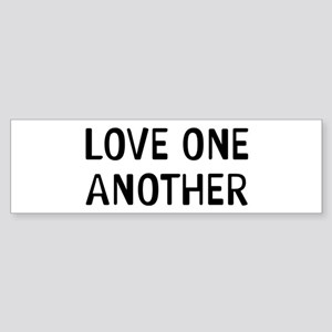 Love One Sticker (Bumper)