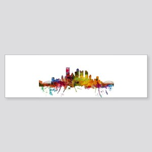 Pittsburgh Pennsylvania Skyline Bumper Sticker