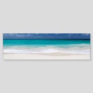 Beautiful Beach Tropical Bumper Sticker
