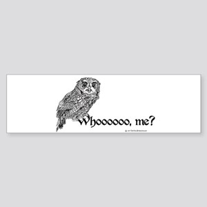 Who Owl Sticker (Bumper)
