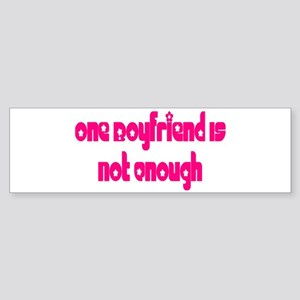 Boyfriend Bumper Sticker