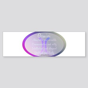 Gemini Astrology Sticker (Bumper)