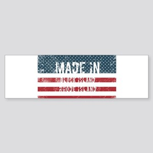 Made in Block Island, Rhode Island Bumper Sticker