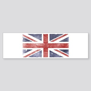 BRITISH UNION JACK (Old) Bumper Sticker